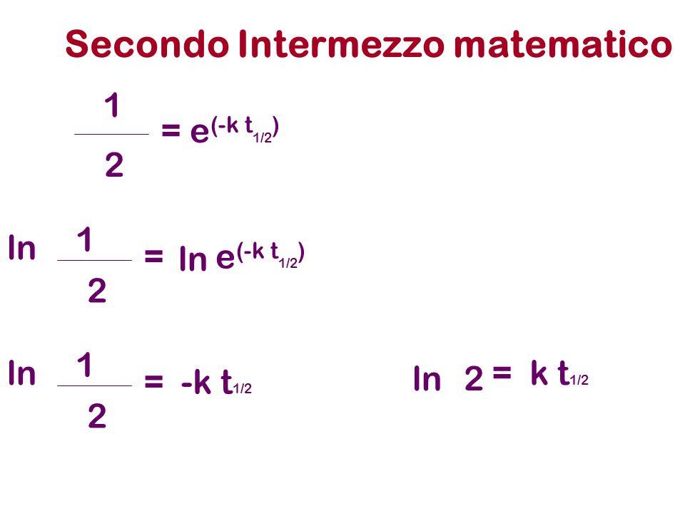 Secondo Intermezzo matematico