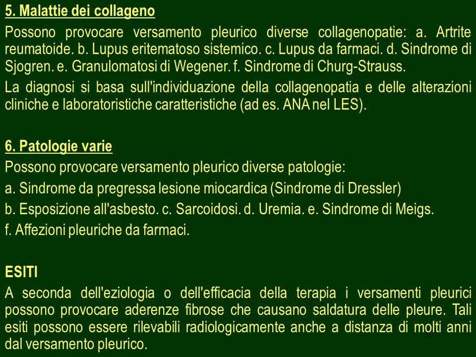 5. Malattie dei collageno
