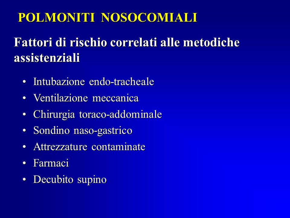 POLMONITI NOSOCOMIALI