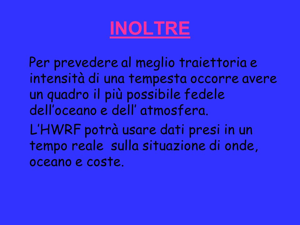 INOLTRE