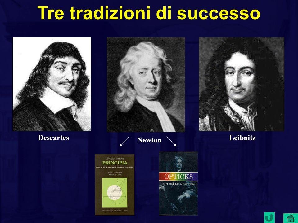 Tre tradizioni di successo