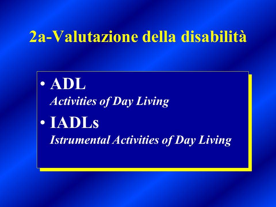 2a-Valutazione della disabilità