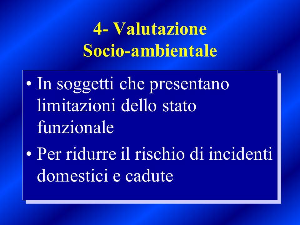 4- Valutazione Socio-ambientale