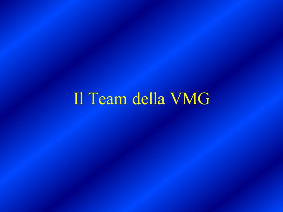 Il Team della VMG