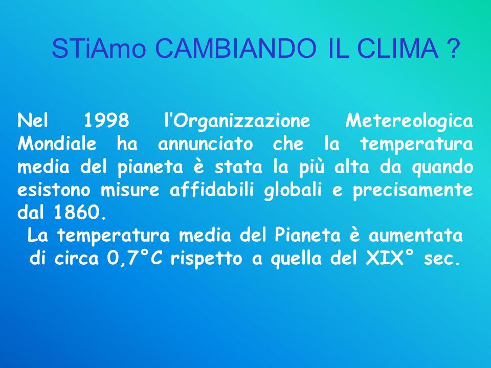 STiAmo CAMBIANDO IL CLIMA