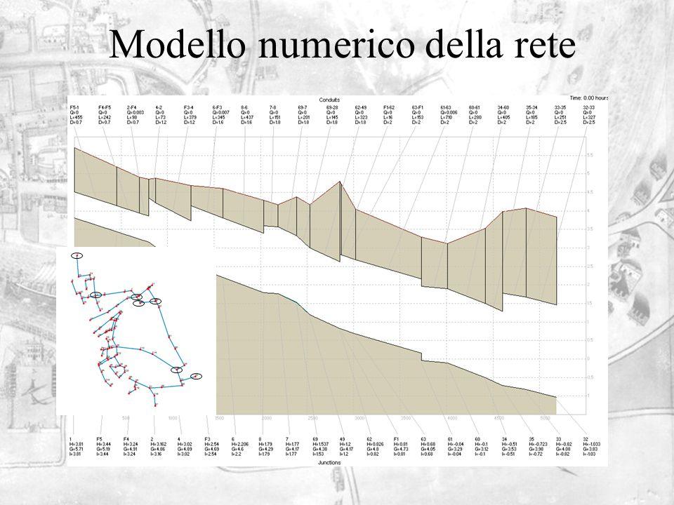 Modello numerico della rete