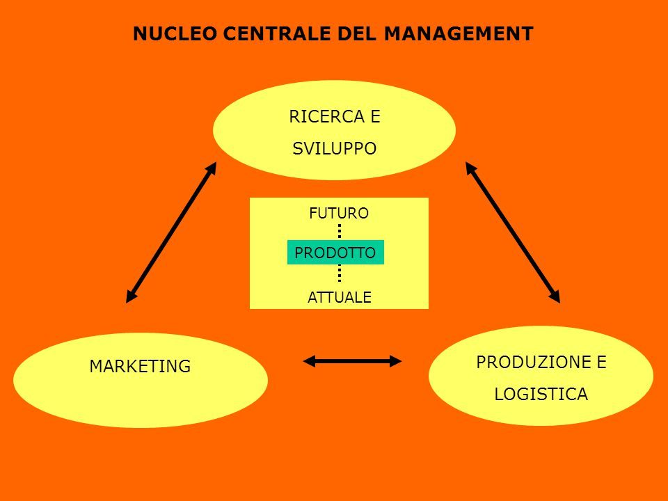 NUCLEO CENTRALE DEL MANAGEMENT