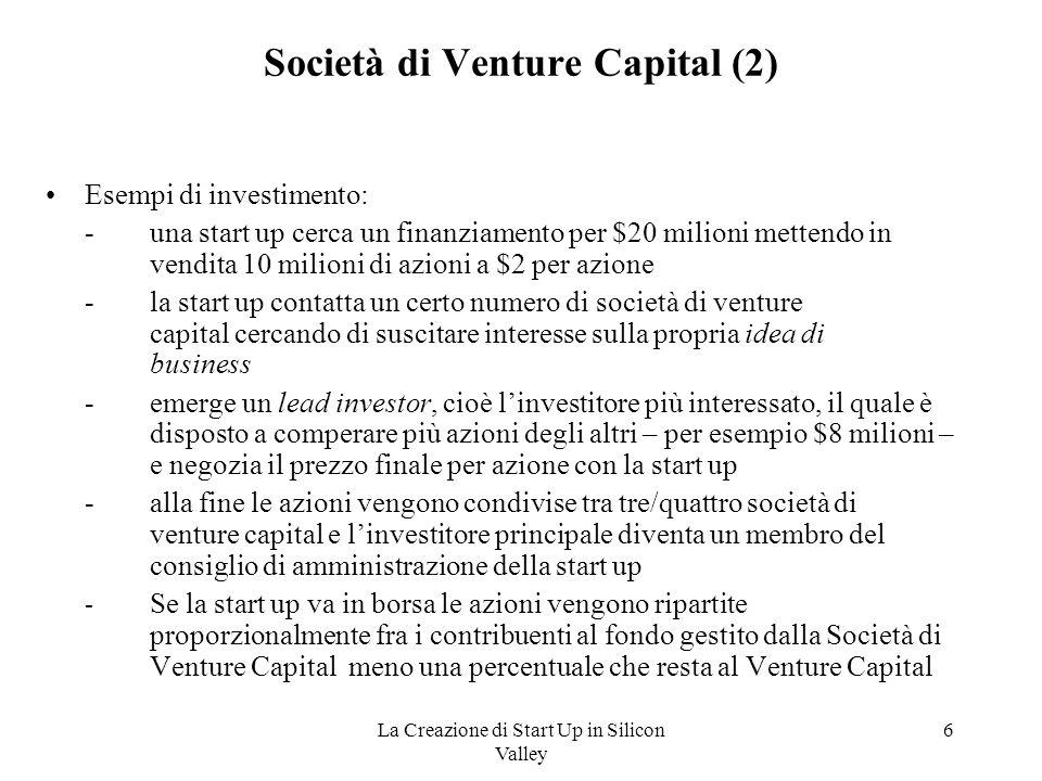 Società di Venture Capital (2)