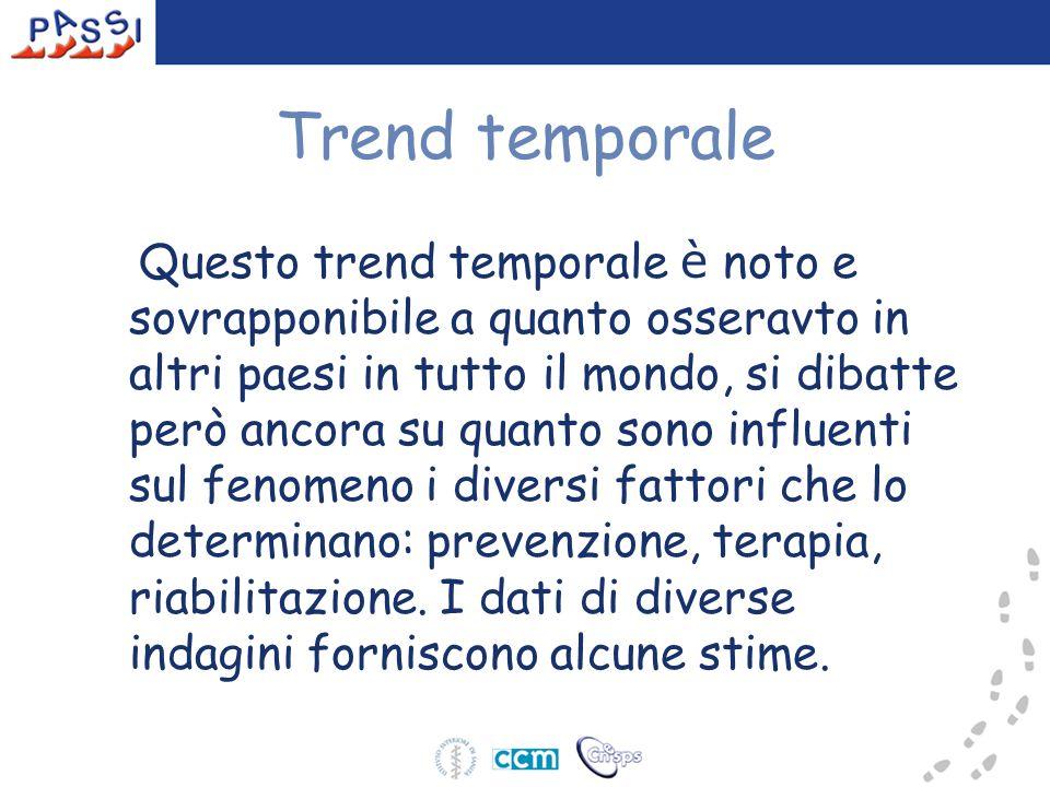Trend temporale