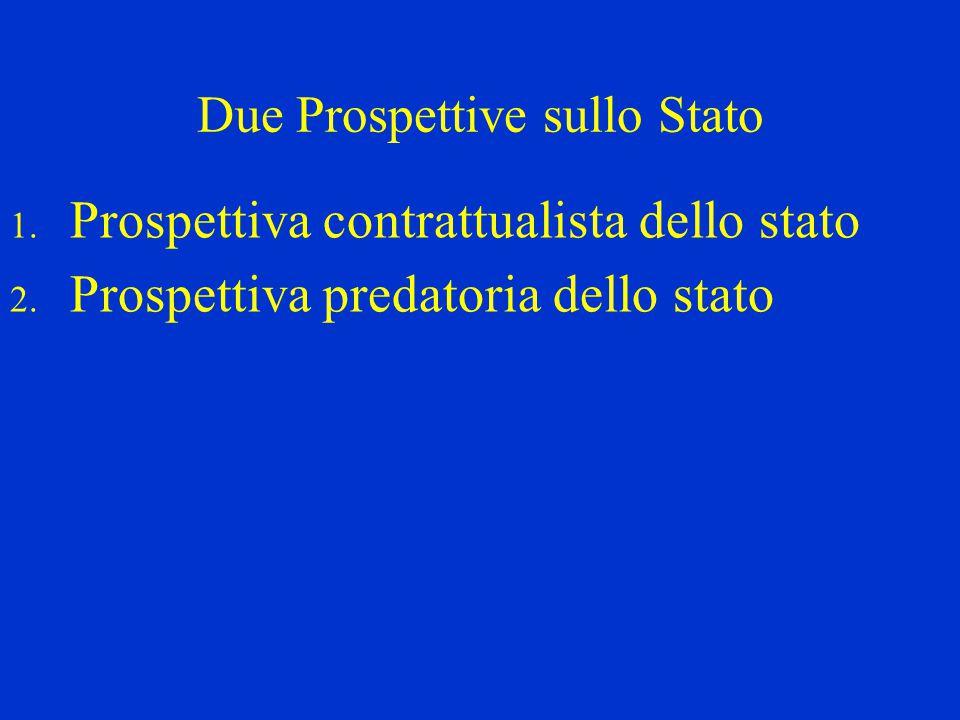 Due Prospettive sullo Stato