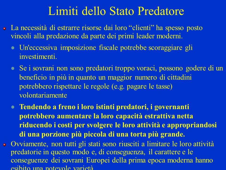 Limiti dello Stato Predatore