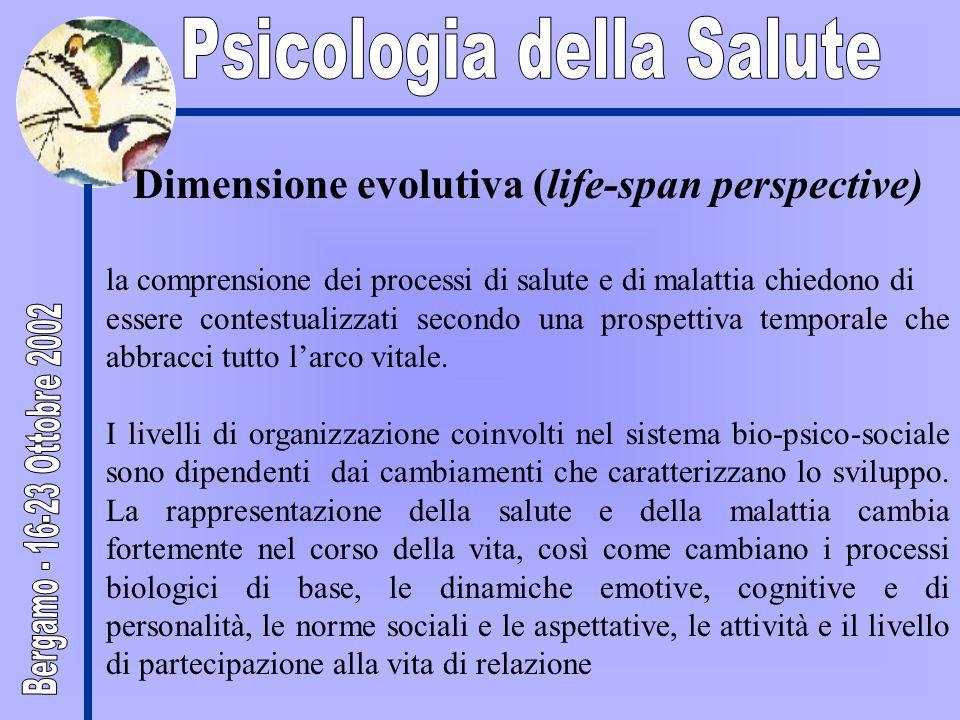 Dimensione evolutiva (life-span perspective)