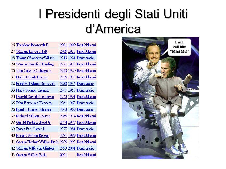 I Presidenti degli Stati Uniti d'America