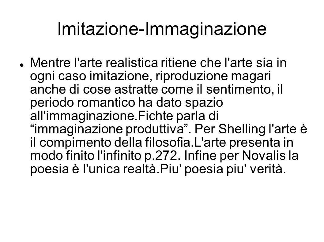 Imitazione-Immaginazione