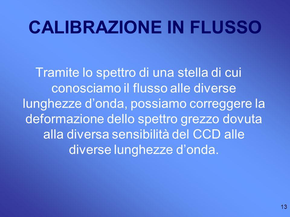 CALIBRAZIONE IN FLUSSO