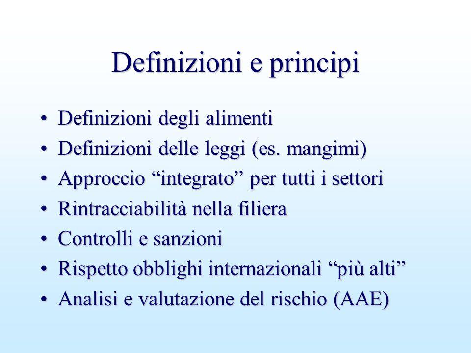 Definizioni e principi