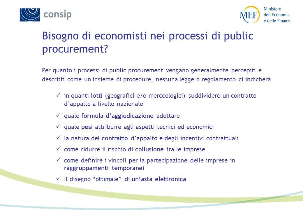 Un metodo di consulenza economica