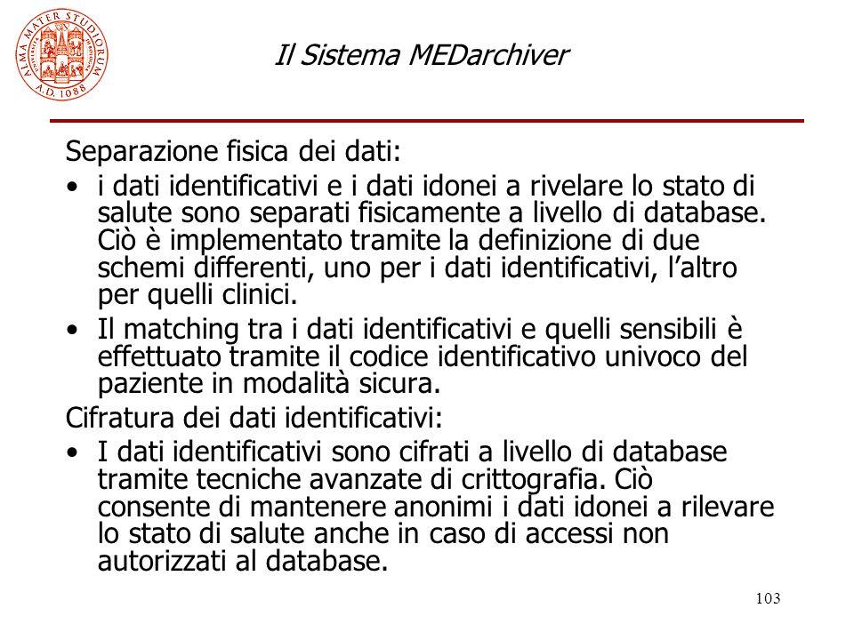 Il Sistema MEDarchiver