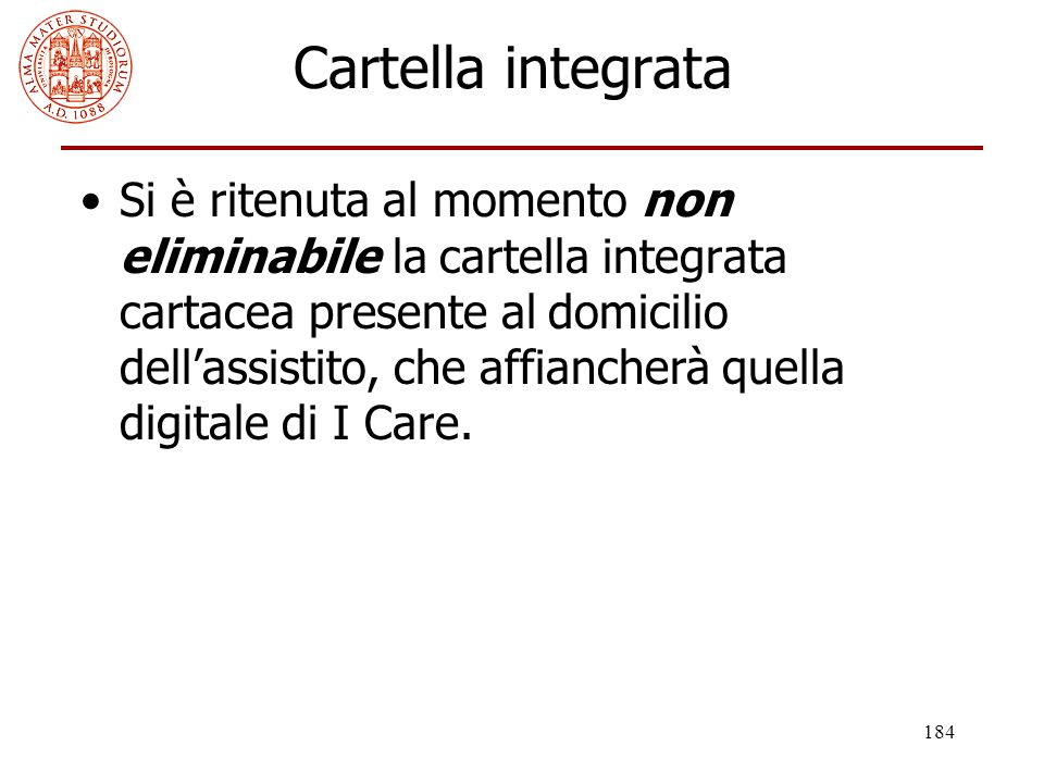 Cartella integrata