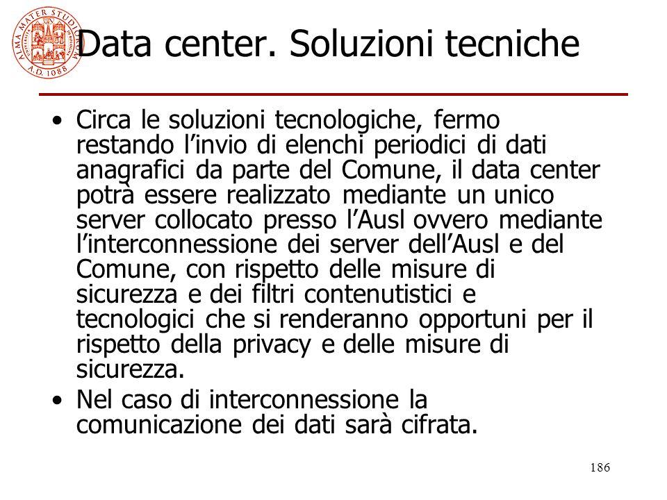 Data center. Soluzioni tecniche