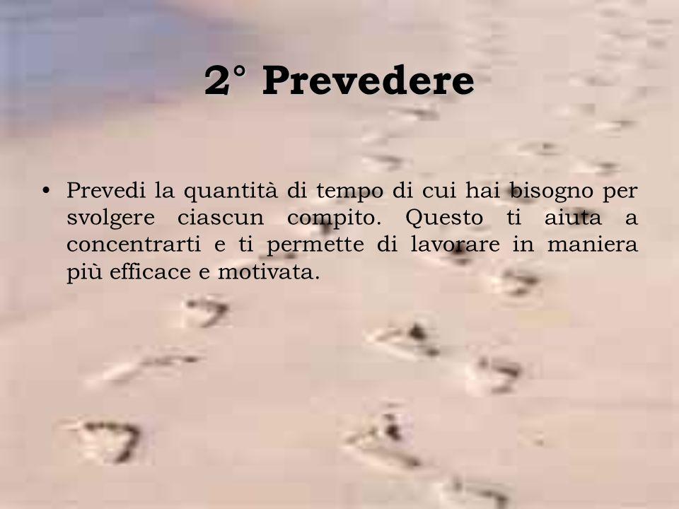 2° Prevedere