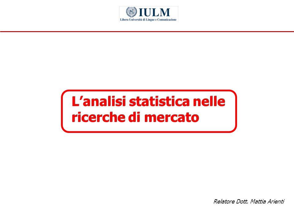 Relatore Dott. Mattia Arienti