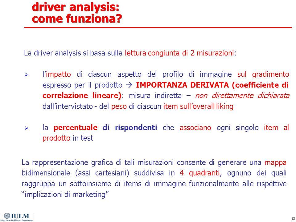 driver analysis: come funziona