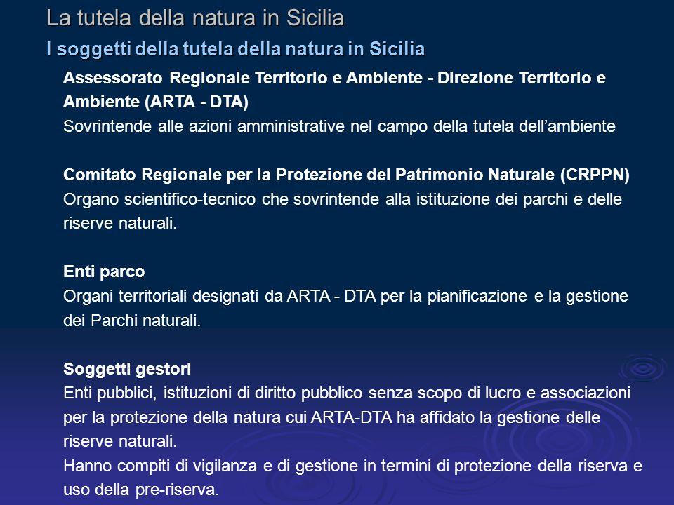 La tutela della natura in Sicilia