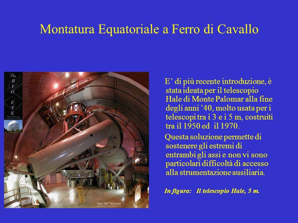Montatura Equatoriale a Ferro di Cavallo