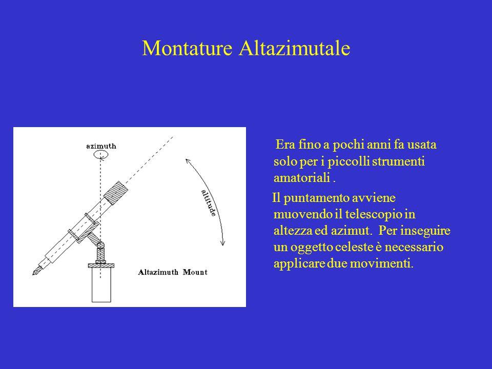 Montature Altazimutale