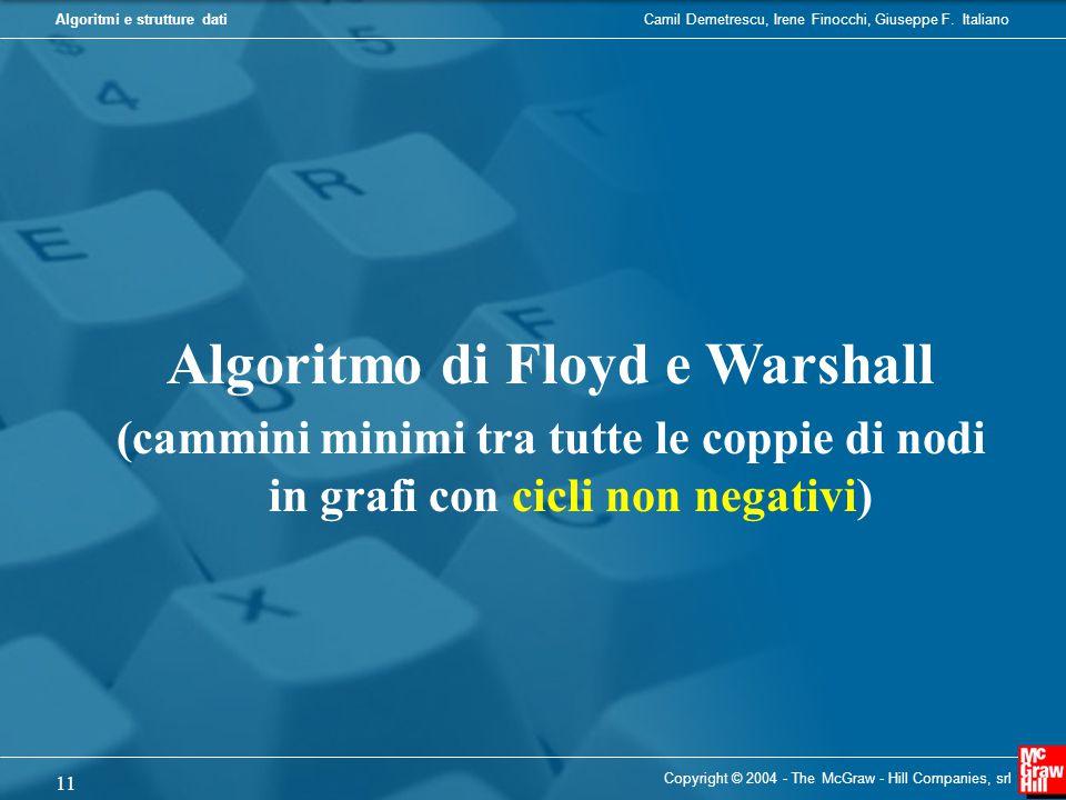 Algoritmo di Floyd e Warshall