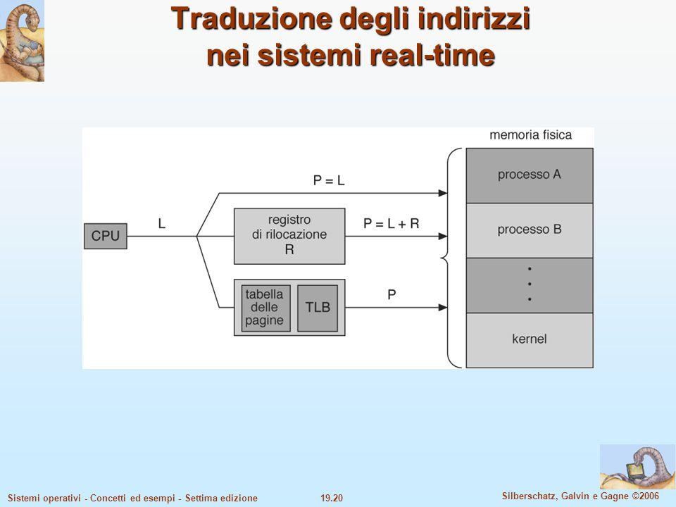 Traduzione degli indirizzi nei sistemi real-time