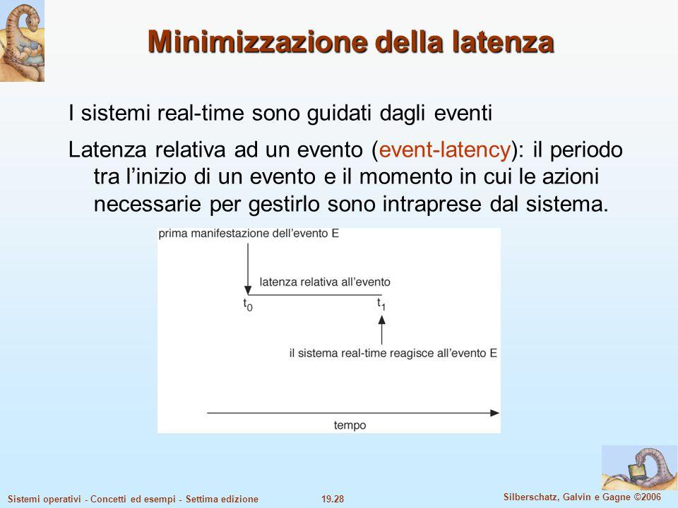 Minimizzazione della latenza