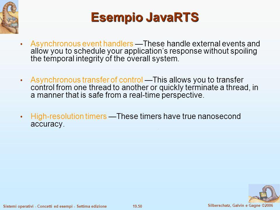 Esempio JavaRTS