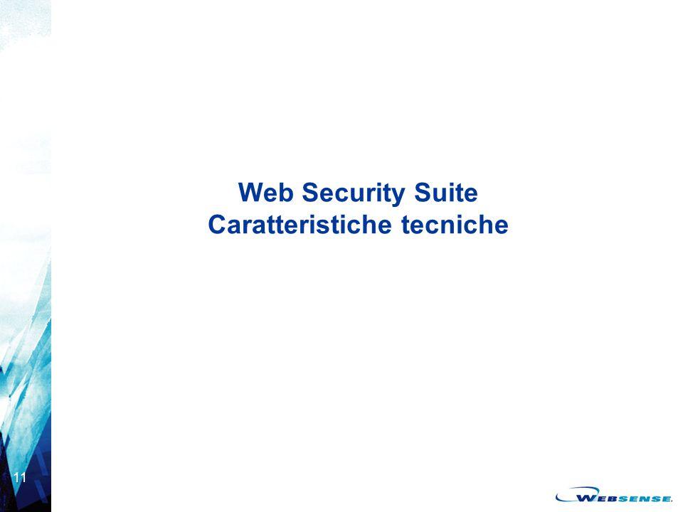 Web Security Suite Caratteristiche tecniche