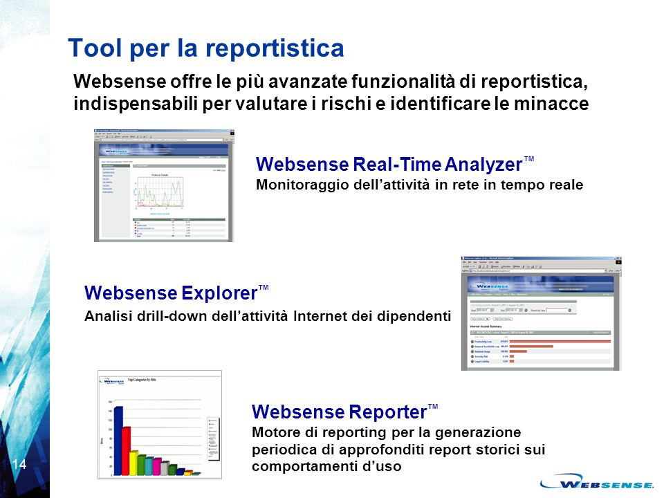 Tool per la reportistica