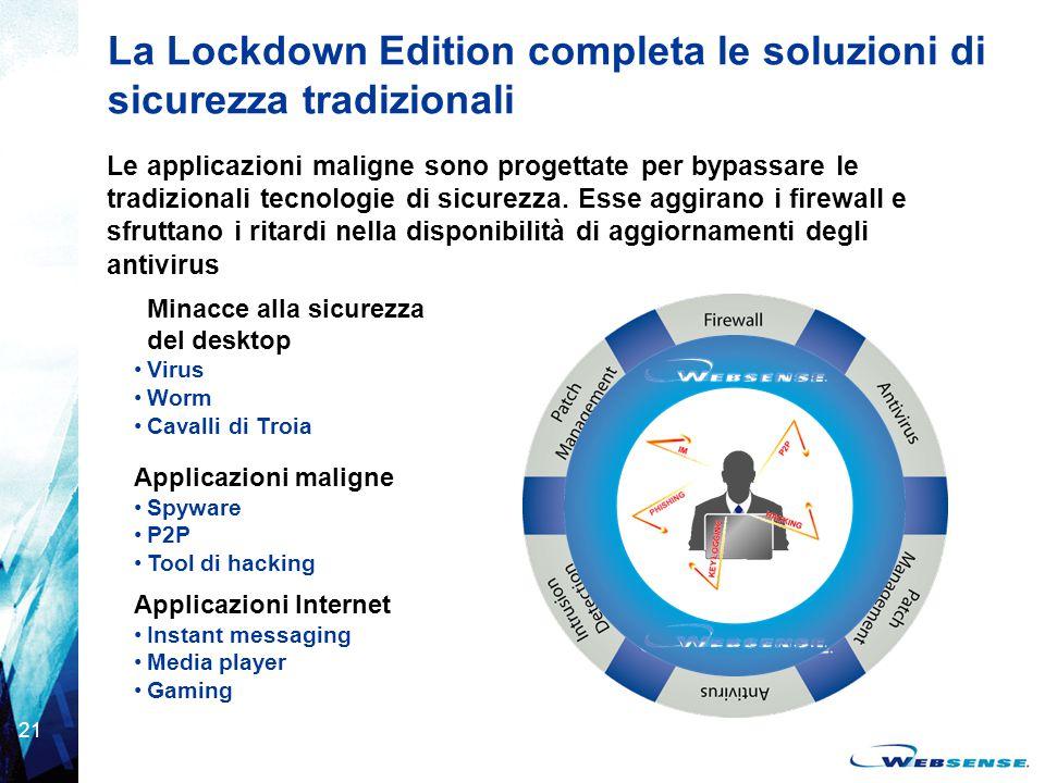 La Lockdown Edition completa le soluzioni di sicurezza tradizionali