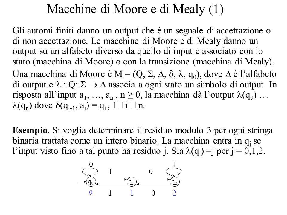 Macchine di Moore e di Mealy (1)