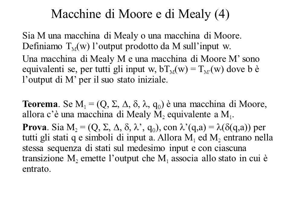 Macchine di Moore e di Mealy (4)