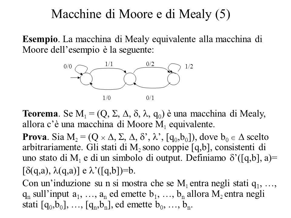 Macchine di Moore e di Mealy (5)