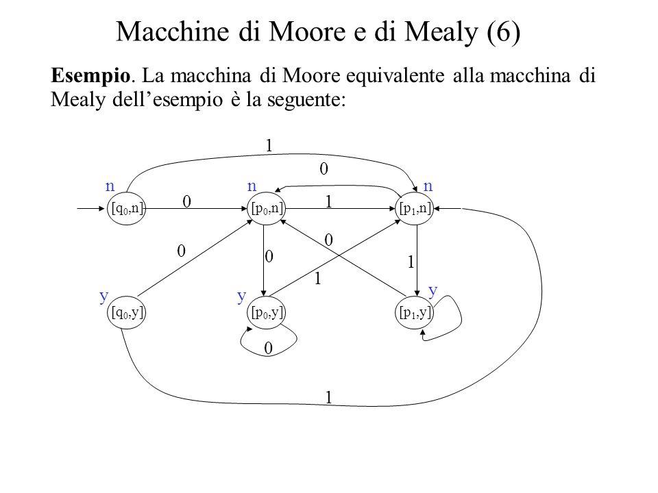 Macchine di Moore e di Mealy (6)