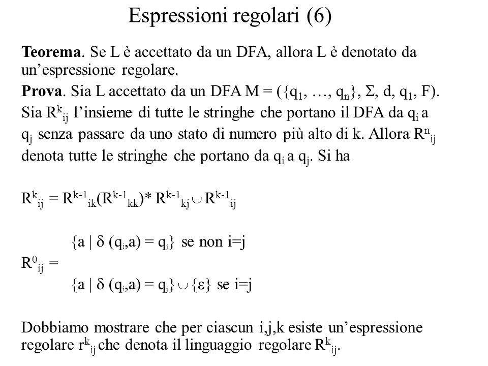 Espressioni regolari (6)