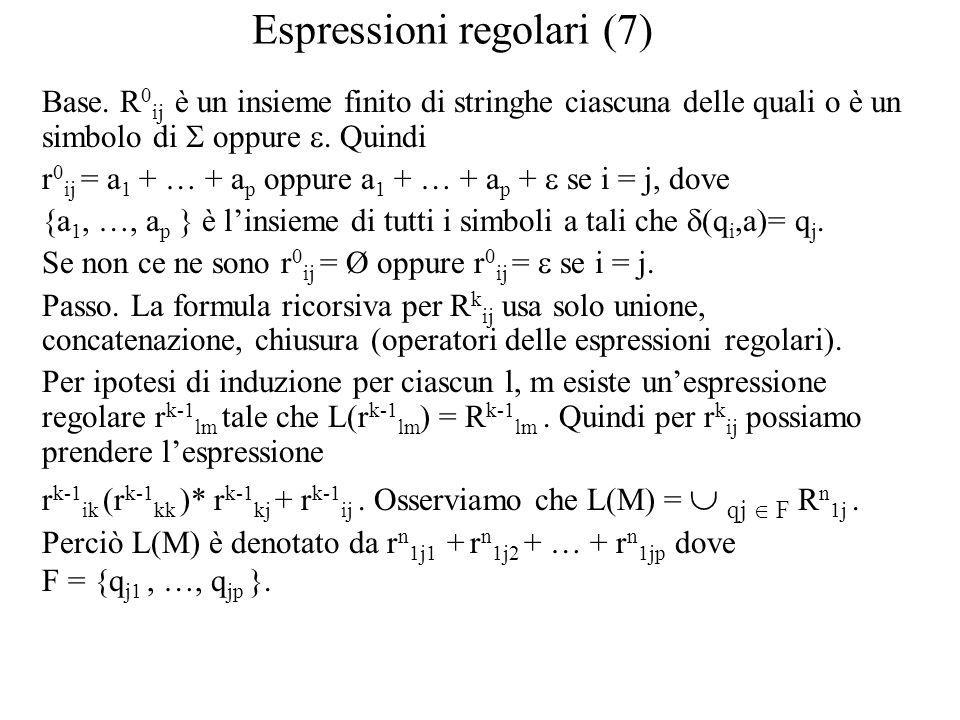 Espressioni regolari (7)