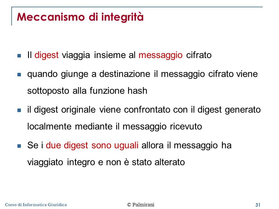 Meccanismo di integrità