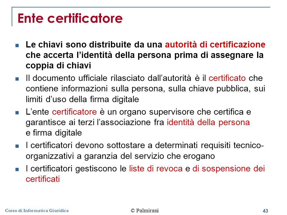 Ente certificatore
