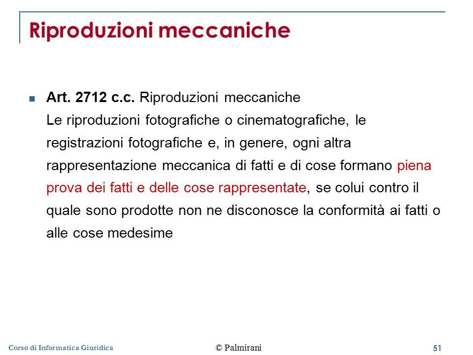 Riproduzioni meccaniche