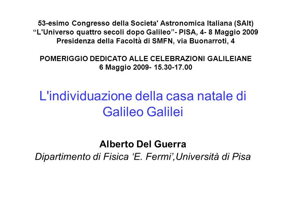 53-esimo Congresso della Societa Astronomica Italiana (SAIt)