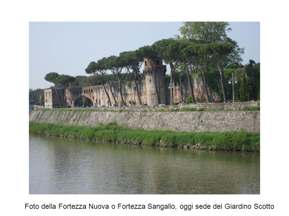 Foto della Fortezza Nuova o Fortezza Sangallo, oggi sede del Giardino Scotto