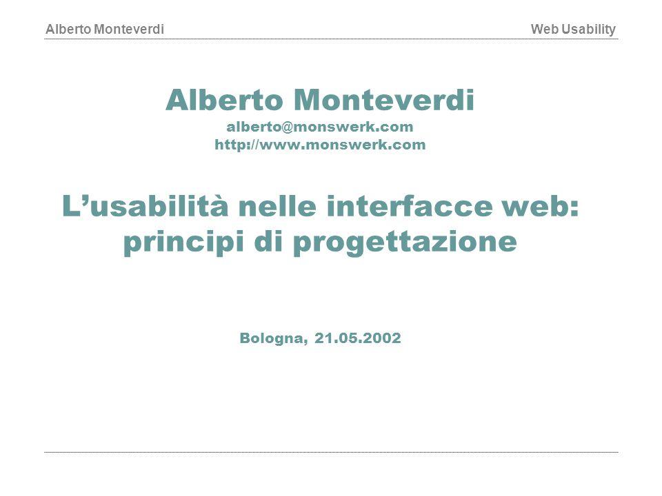 Alberto Monteverdi alberto@monswerk. com http://www. monswerk