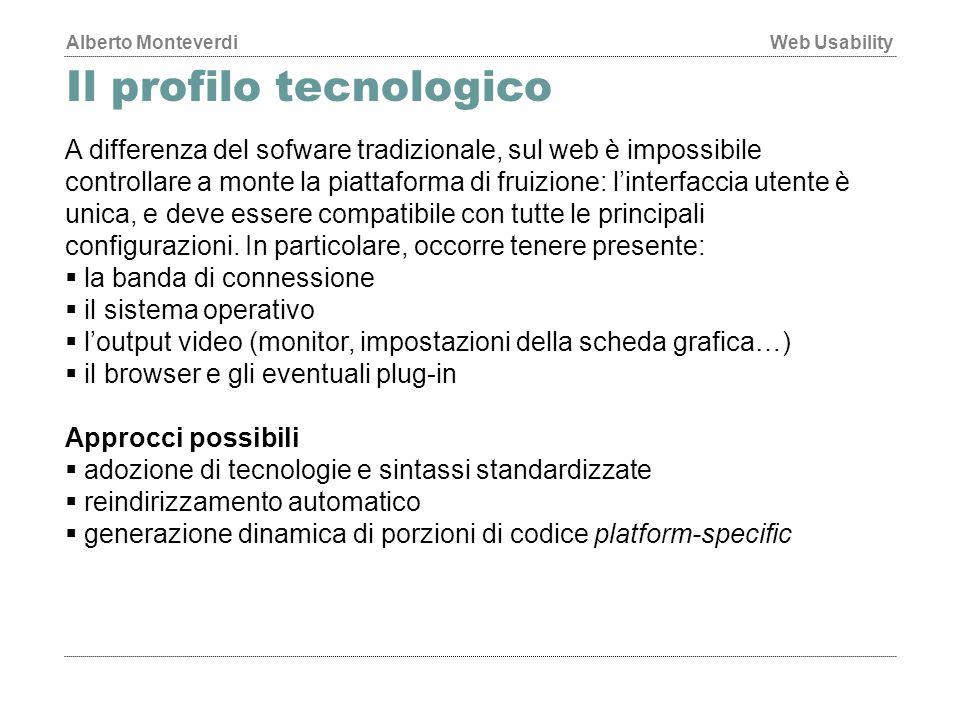 Il profilo tecnologico